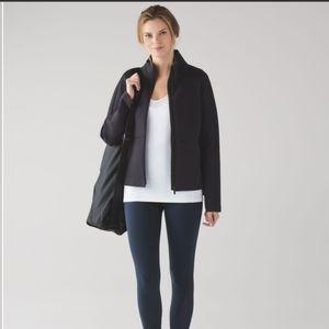 Lululemon Full Zip Going Places Jacket  Black
